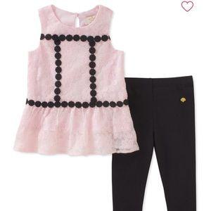 Kate Spade Dress & Legging Set Toddlers